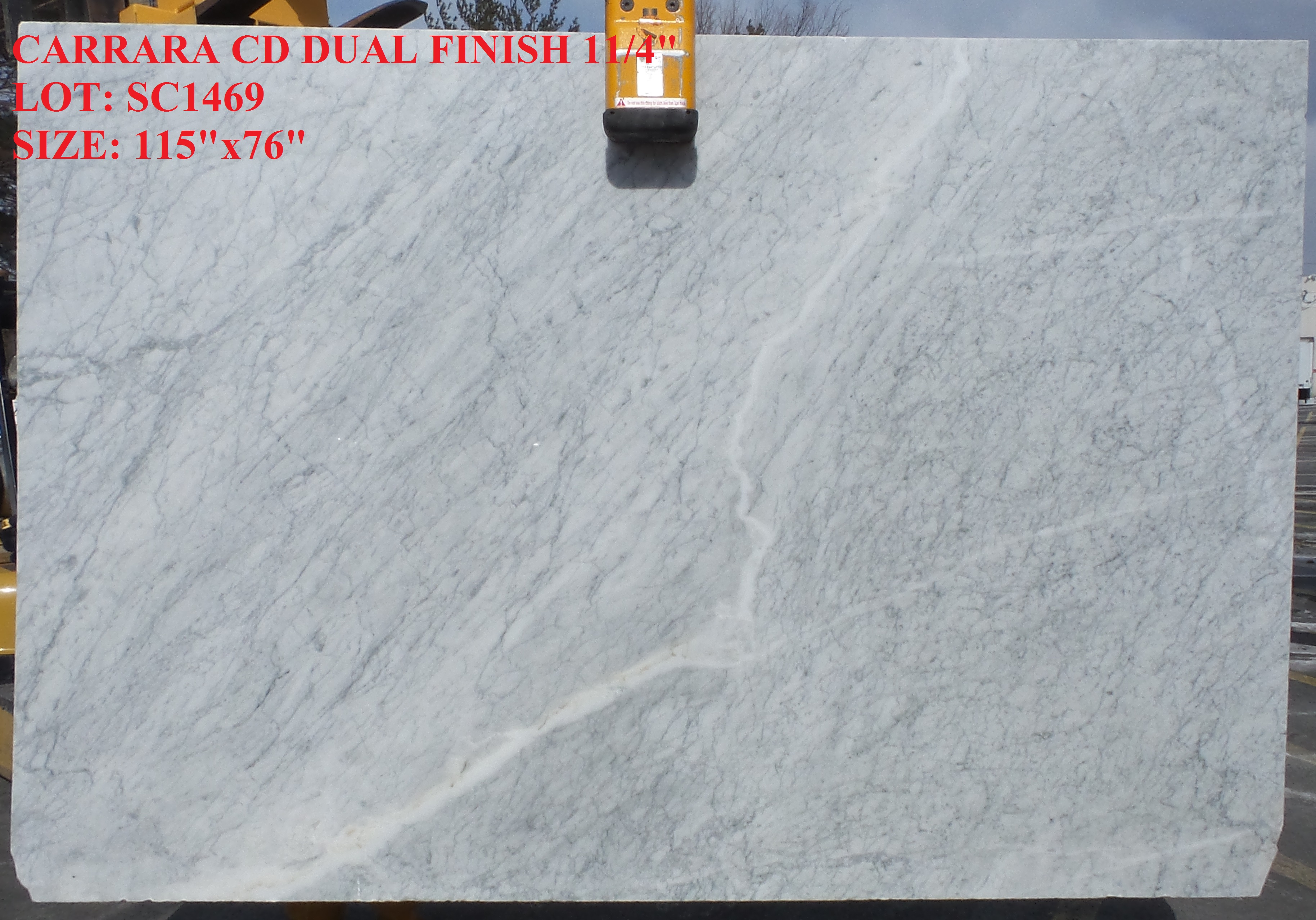 Carrara CD Dual finish